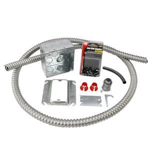 Trousse d'installation électrique avec 1 conduit