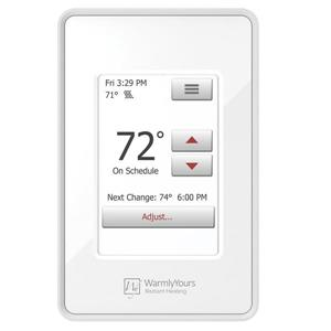 nSpire Touch Thermostat Programmable with Floor Sensor