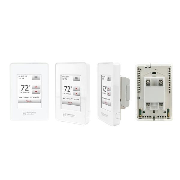 Thermostat tactile nSpire programmable avec capteur