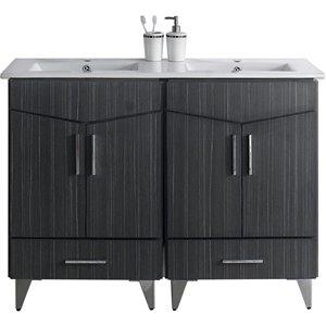 Zen Vanity Set  - Double Sink - 48