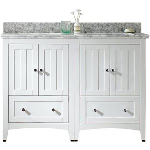 Shaker Vanity Set  - Double Sink - 47.5