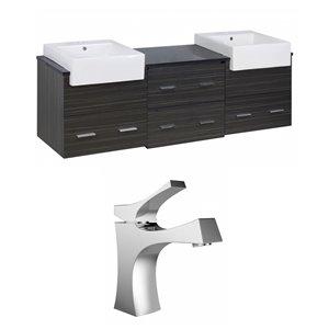 Xena Farmhouse Vanity Set  - Double Sink - 73.5