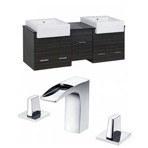 Xena Farmhouse Vanity Set  - Double Sink - 59.5