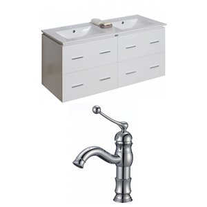 Xena Vanity Set  - Double Sink - 48