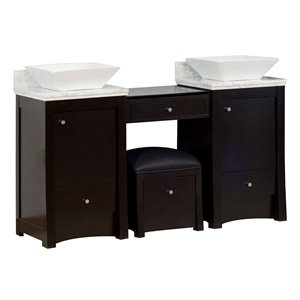 Elite Vanity Set  - Double Sink - 60.75