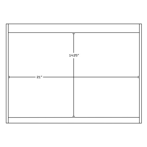 "American Imaginations Xena Quartz Vanity Set  - Single Sink - 48"" - Gray"