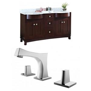 Tiffany Vanity Set  - Double Sink - 60