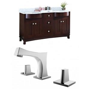Tiffany Vanity Set  - Double Sink - 60