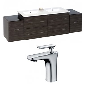 Xena Vanity Set  - Double Sink - 75.5