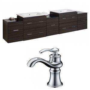Xena Vanity Set  - Double Sink - 89.5