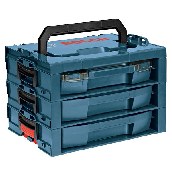 Système d'étagère de rangement avec tiroirs