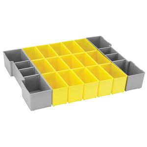 Organizer Insert Set for L-Boxx System - 17 Pieces