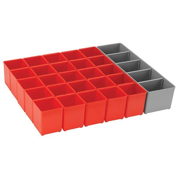 Ensemble de rangement pour système L-BOXX, 26 pièces