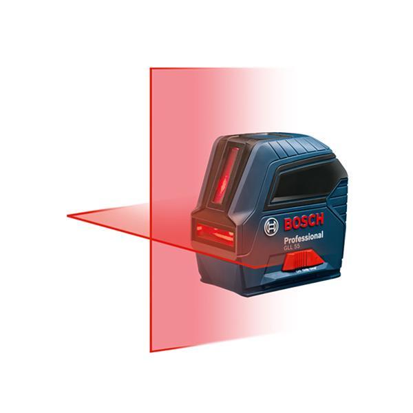 Laser en croix à nivellement automatique