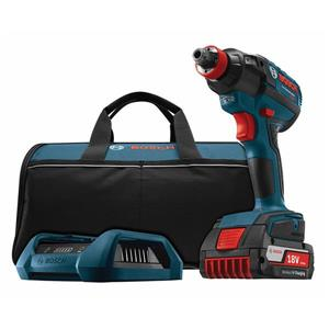 "Bosch Brushless Impact Driver Set - 18 V - 1/4"" and 1/2"""