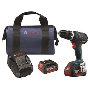 Bosch Brushless Percussion Drill / Driver Set - 18 V