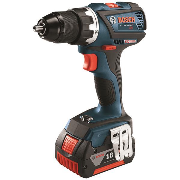 "Bosch EC Brushless Compact Tough Drill/Driver Kit - 1/2"""