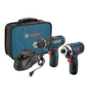 Bosch 2-Tool Lithium-Ion Cordless Combo Kit - 12 V