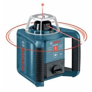 Bosch Self-Leveling Rotary Laser with Layout Beam