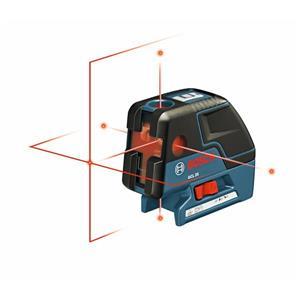 Laser d'alignement avec nivellement automatique