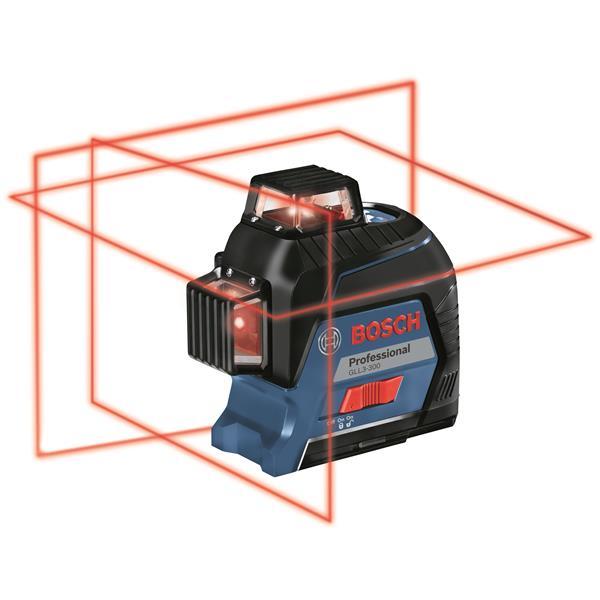 Laser de nivellement et d'alignement à trois plans à 360°