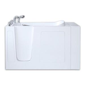 Aquam Spas Walk-in Left Hand Tub - 53-in x 26-in - White