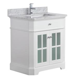 Heritage Vanity with Marble Countertop - 32