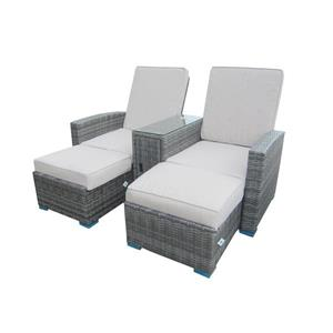 Henryka Gray 3-Piece Outdoor Conversation Set