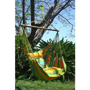 Henryka 50.4-in x 50.4-in x 43-in Multi Colour Large Hammock Swing