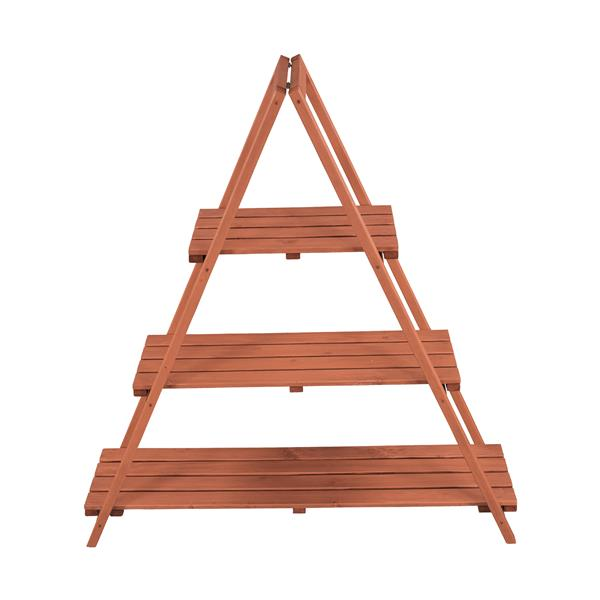 Wooden Ladder Plant Stand - Indoor/Outdoor