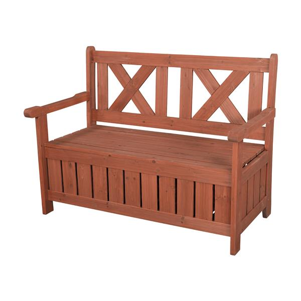Wooden Storage and Seating Bench
