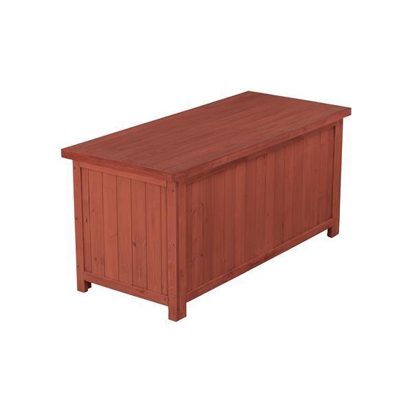 Wooden Deck Storage Box - 50'' x 22'' x 24''