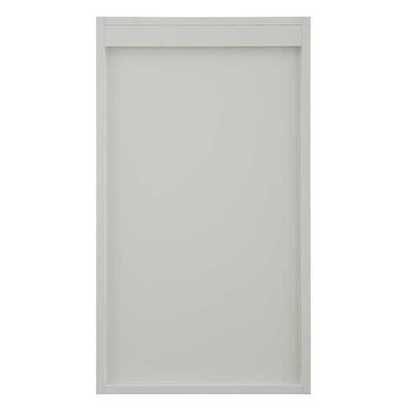 """Armoire latérale Denham, 18"""" x 32"""", MDF, blanc"""
