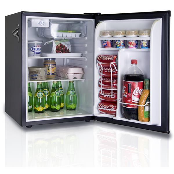 """Réfrigérateur compact - 17,5"""" x 25"""", noir"""