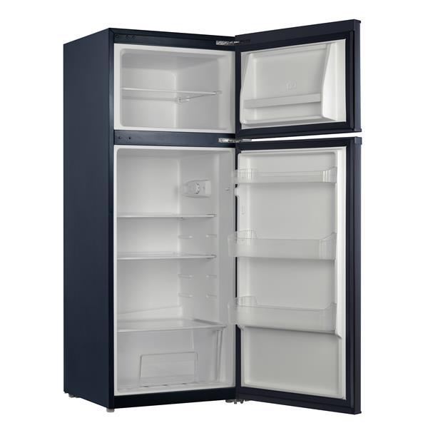 "Compact Refrigerator - 22.6"" x 55.6"" - Gray"