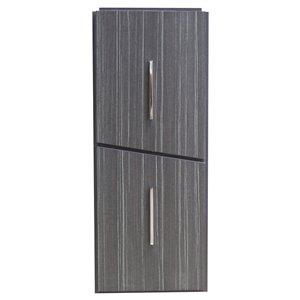 "American Imaginations Zen Modular Drawer - 12"" x 30"" - Wood - Gray"