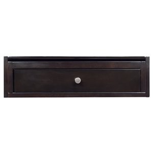 "American Imaginations Elite Modular Drawer - 21.25"" x 6"" - Wood - Brown"
