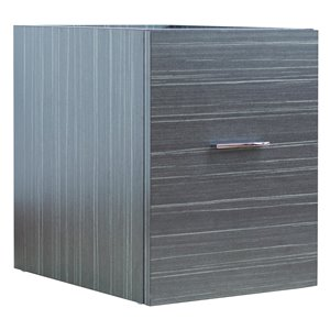 "American Imaginations Xena Modular Drawer - 14"" x 17.8"" - Wood - Gray"