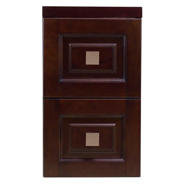 """Tiroir modulaire Flair, 11,75"""" x 22"""", bois, brun"""