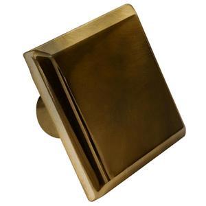 Bouton d'armoire, carré, 1,2