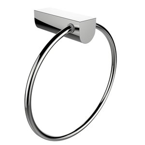 American Imaginations Towel Ring - Chrome