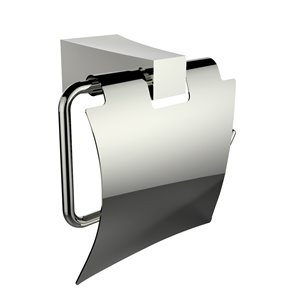 American Imaginations Toilet Paper Holder - Chrome