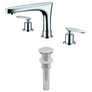 "Ensemble de robinet, répandu, 5,39"", laiton, chrome"