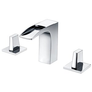 "American Imaginations Pri Faucet - Widespread - 4.68"" - Chrome"