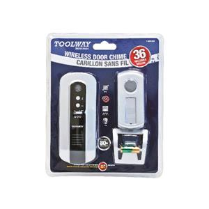 Toolway Wireless Door Bell with Remote Touch Button