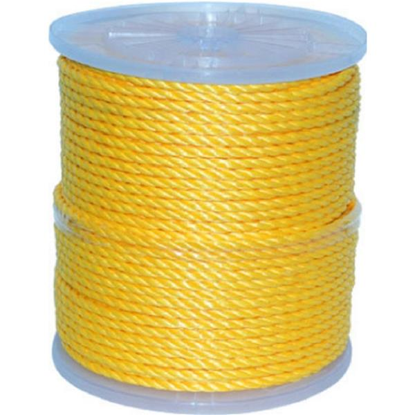 Corde torsadée, 2125 pieds, polypropylène, jaune