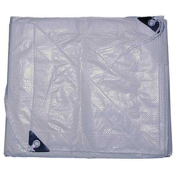 Toolway Tarpaulin - 30-ft x 50-ft - Polyethylene - Clear