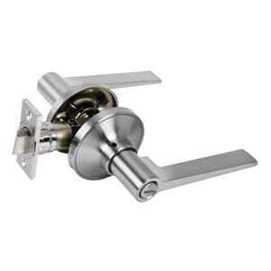Toolway Door Lock Lever Privacy - 2.75-in - Chrome