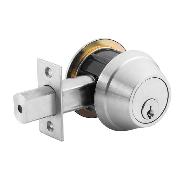 "Dead Bolt Door Lock - 2.75"" - Chrome"