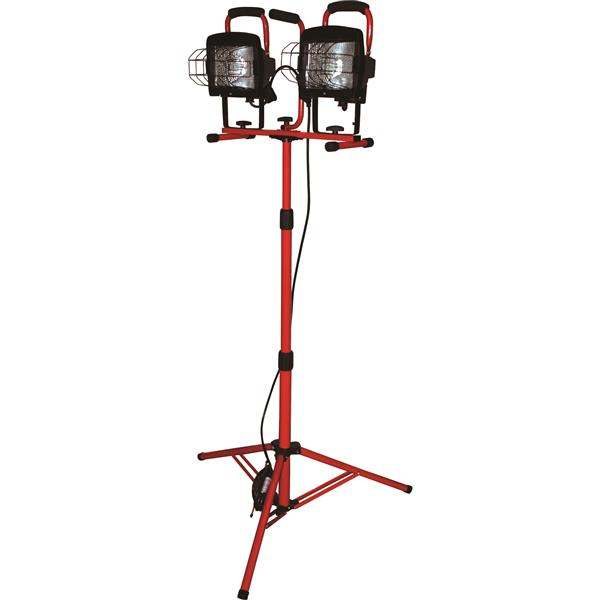 Toolway Double Lamp with Tripod - 40-in to 60-in - 4 Levels